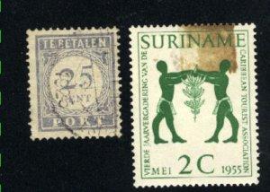 Suriname 265,J27   used VF  PD