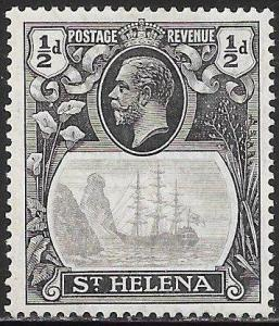 St. Helena 79 Unused/Hinged - Badge of the Colony