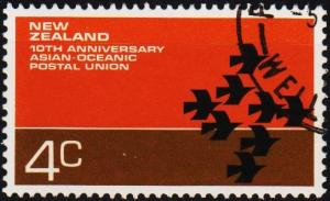 New Zealand. 1972 4c S.G.979  Fine Used