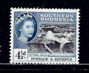 Southern Rhodesia 86 MHR 1953 Victoria Falls    (ap1104)