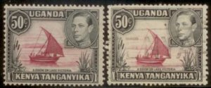 KUT 1938 SC# 79,79a MNH and Used  L156