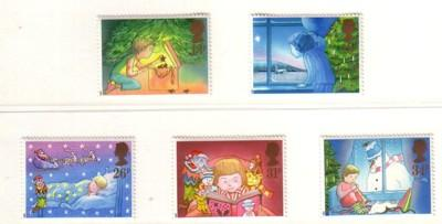 Great Britain Sc 1196-0 1987 Christmas stamps NH