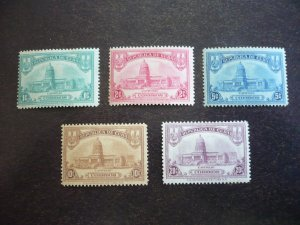 Stamps - Cuba - Scott# 294-298 - Mint Hinged Set of 5 Stamps