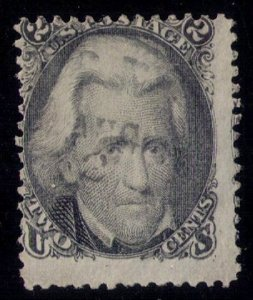 1875 - US SCOTT #103 ,NO GUM ,REISSUE LIGHTLY CANCELLED FINE W/HIGH CAT. VALUE