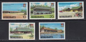 Kiribati # 360-364, Buildings,  NH 1/2 Cat