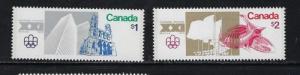 Canada 687-88 NH 1974 set