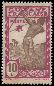 French Guiana 1929 #114 Mint H