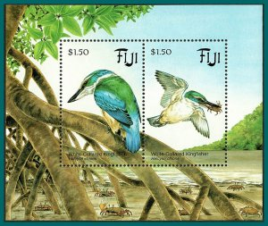 Fiji 1994 Kingfisher MS, MNH  #711,SGMS898