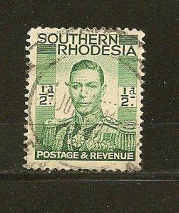 Southern Rhodesia 42 King George VI Used