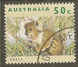 Australia   Scott 1280    Koala                Used
