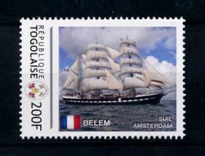 [78698] Togo  Sail Ships Belem  MNH