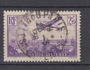 J29308, 1936 france used #c10 airplane
