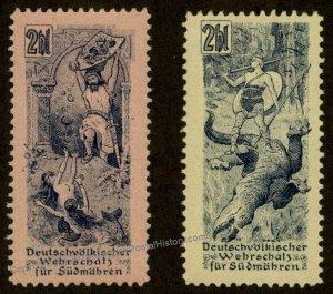 Austria Germany WWI Moravia Wagner Nibelungenlied Mermaids Dragon Siegfrie 93756