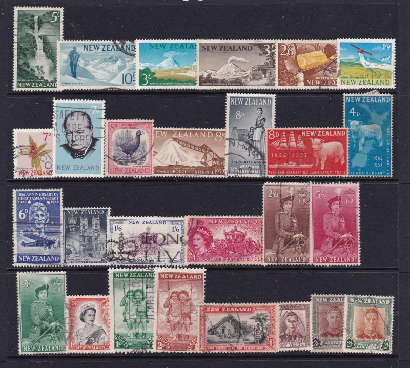 New Zealand a small lot KGVI & early QE2