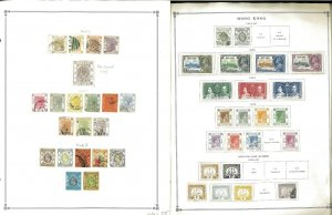 Hong Kong 1863-1997 MNH, LH & U Hinged & in Mounts on Scott International Pgs.