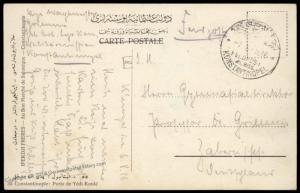 Germany 1916 WWI Constantinople Gebirgs Art Mountain Artillery Turkey Miss 82892