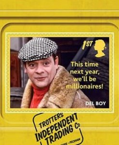 2021 SG: 4486/87 - ONLY FOOLS AND HORSES,DEL BOY & RODNEY - S/A - UNMOUNTED MINT