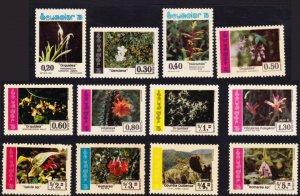 Ecuador #930/C563 MH set - flowers / cacti