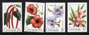 Grenada 910-3 MNH Flowers