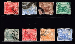 Malayan States OLD USED STAMPS COLLECTION LOT