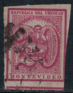 Uruguay #33  CV $15.00