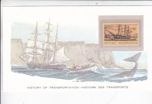 History of Transport United States The Charles W Morgan Presentation Card VGC