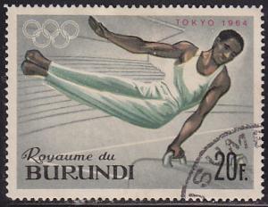 Burundi 110 XVIII Summer Olympic Games, Tokyo 1964