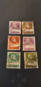 Switzerland #167 170 171 174 Used
