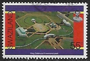 Swaziland # 680 - King Sobhuza Memorial - used....{BRN17}