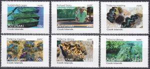Aitutaki #572-7  MNH CV $7.25  (A19401)