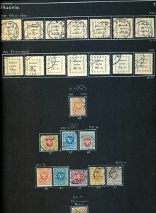 LTHUANIA 1919/1940 M&U Collection (Appx 80 Items) (NT 3274