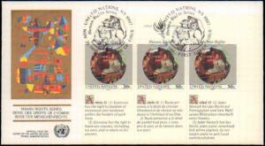 United Nations, New York, Art, Worldwide First Day Cover