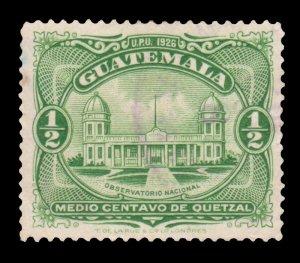 GUATEMALA STAMP 1929 SCOTT # 233. USED. # 3