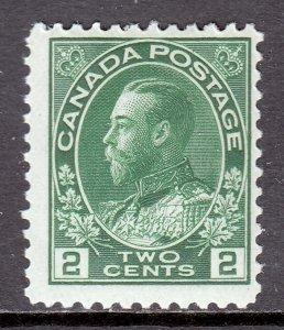 Canada - Scott #107 - MH - SCV $15