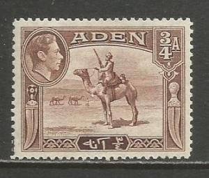 Aden   #17  MH  (1939)  c.v. $3.00