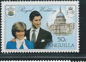 Anguilla #444  $0.50 Royal Wedding  (MNH)  CV $0.25