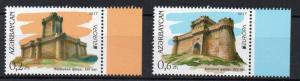 AZERBAIDJAN - 2017 - EUROPA - CASTLES -