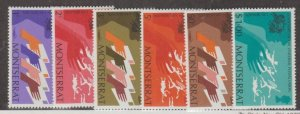 Montserrat Scott #306-311 Stamps - Mint NH Set