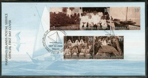 MARSHALL ISLANDS 2006 TRADITIONS SET FIRST DAY COVER