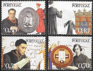 Portugal 2551-2554 MNH - History of Law in Portugal