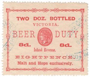 (I.B) Australia - Victoria Revenue : Beer Duty 8d