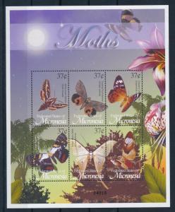 [34859] Micronesia 2002 Butterflies Schmetterlingen Papillons Moths MNH Sheet