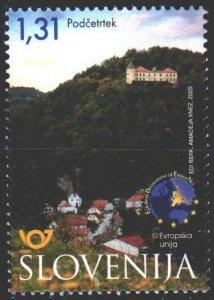 Slovenia. 2020. 1410. Tourism, castle. MNH.