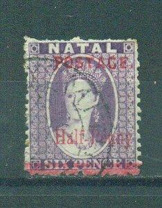 Natal sc# 79 used cat value $10.00