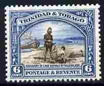 Trinidad & Tobago 1935-37 6c Discovery of Lake Asphal...