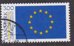 Denmark # 870, European Parliament 3rd Elections, Used, 1/2 Cat.