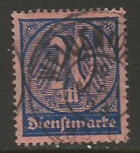 GERMANY O19 VFU R1-105-1