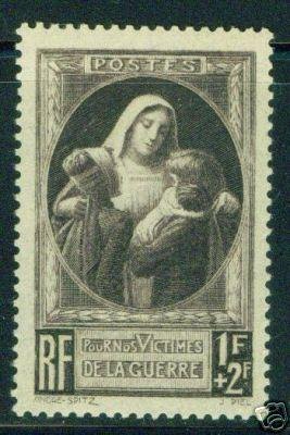 FRANCE Scott B103 MNH** Nurse With Injured Children