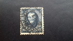 United States 1894 15c Henry Clay SG 261 Used (CV £80)