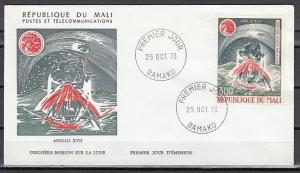 Mali, Scott cat. C202. Apollo XVII. Lift off issue. First day cover.